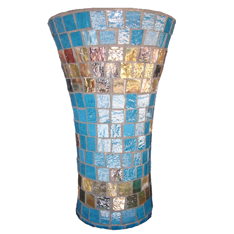 2 lovely mosaic glass vase home idea hines handiwork custom glass mosaics reviewsmspy
